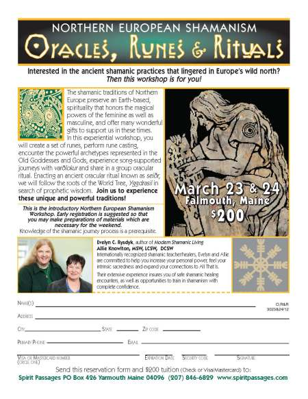 Oracles Runes Rituals 2013